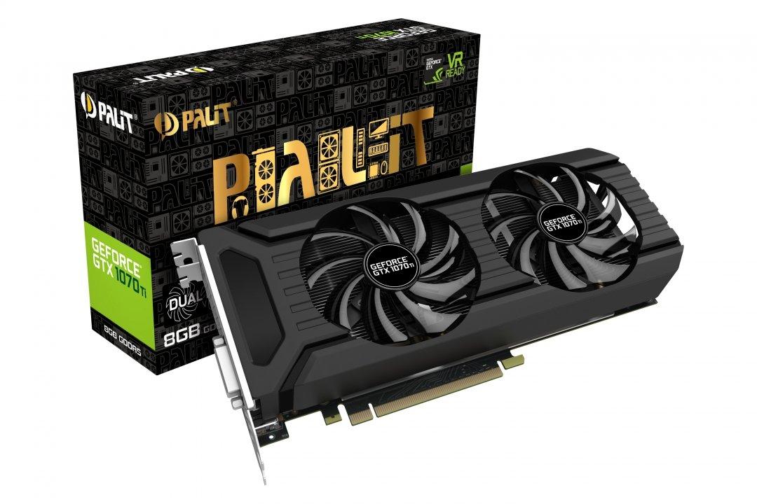 Palit GeForce GTX 1070 Ti DualFan