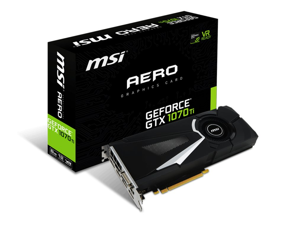 MSI GeForce GTX 1070 Ti Aero