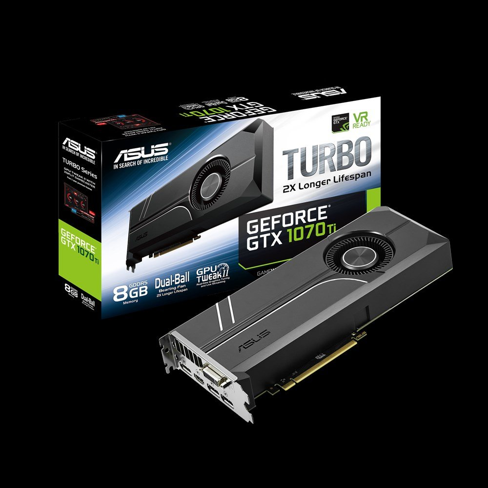 Asus GeForce GTX 1070 Ti Turbo
