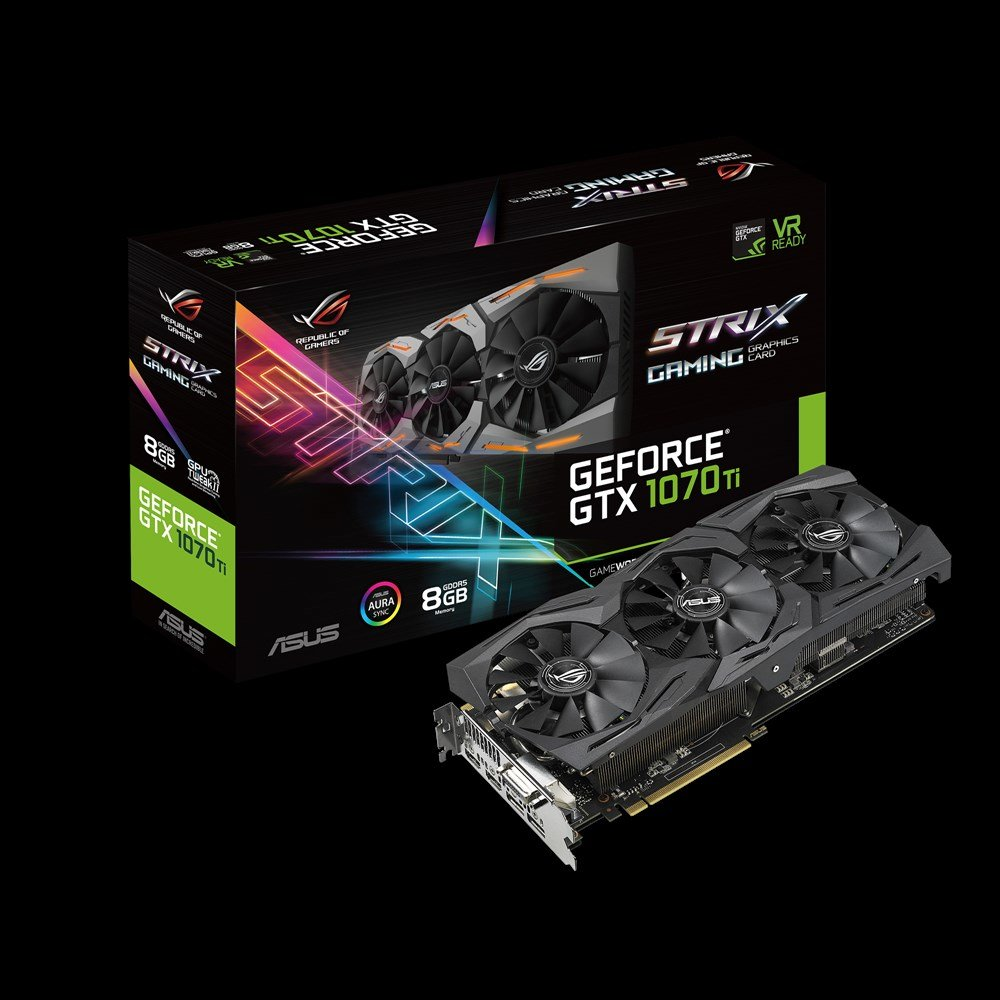 Asus GeForce GTX 1070 Ti Strix (Advanced Edition)