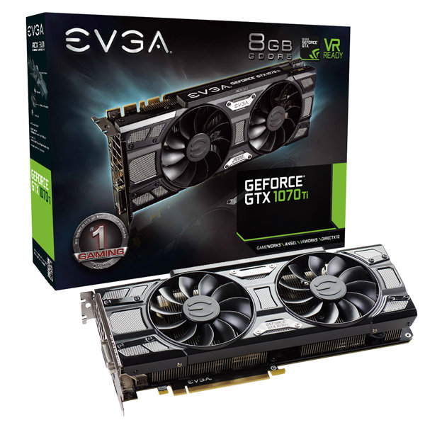 EVGA GeForce GTX 1070 Ti SC