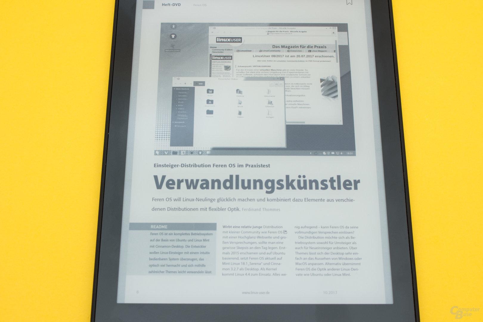 Schlechte PDF-Darstellung beim Tolino Epos