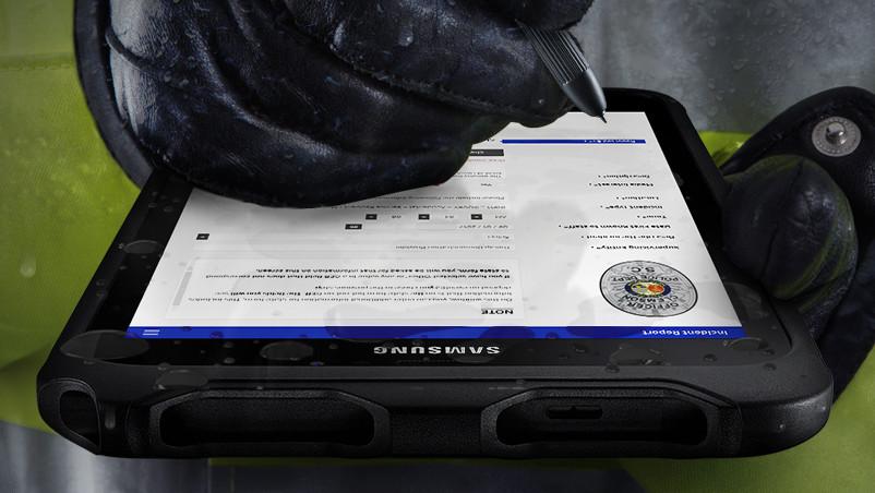 Galaxy Tab Active2: Rugged-Tablet mit IP68, MIL-STD-810G, LTE & Wechselakku