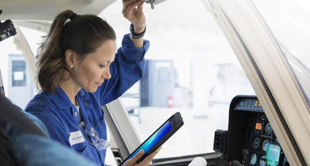 Samsung Galaxy Tab Active2 im Außeneinsatz