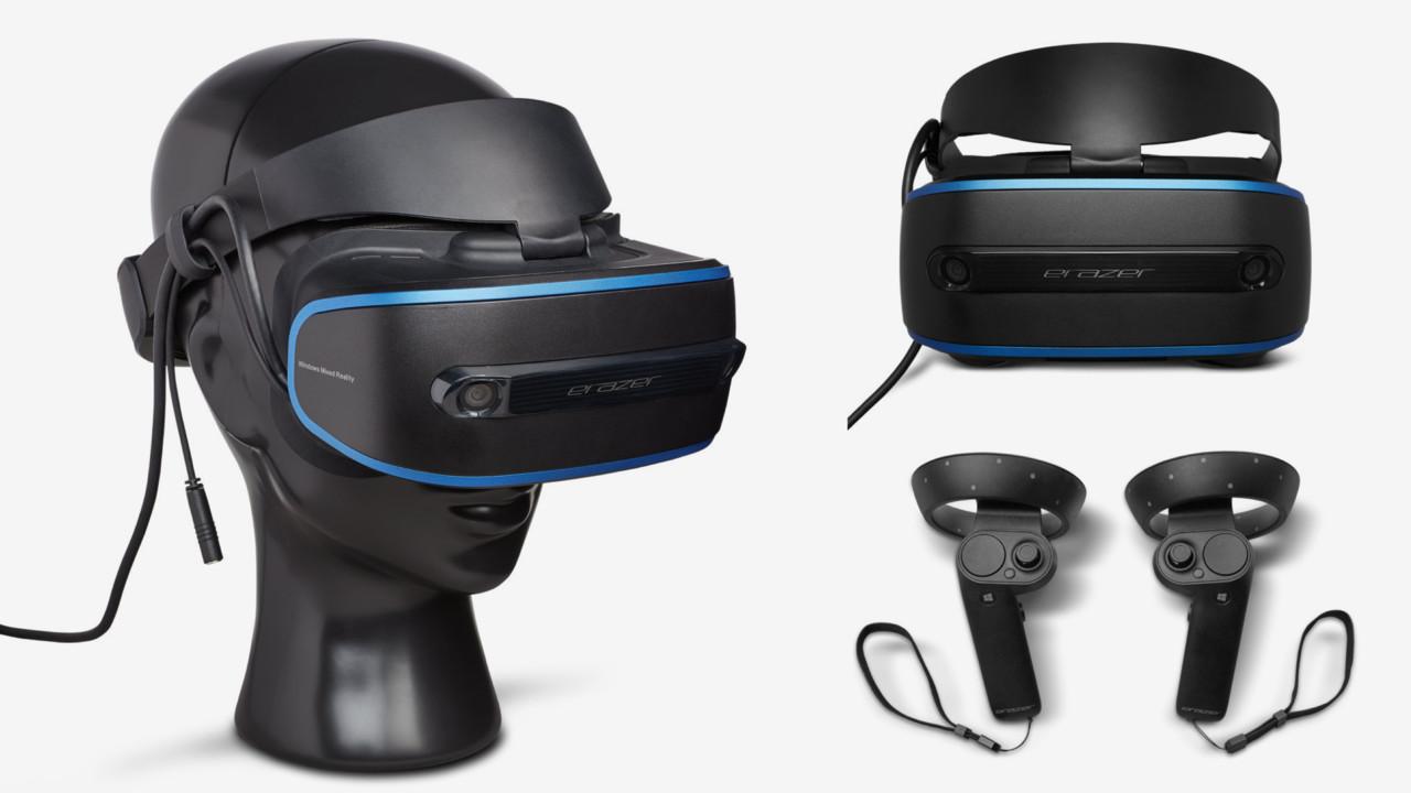 Medion Erazer X1000 MR: VR-HMD von Lenovo mit anderem Aufdruck