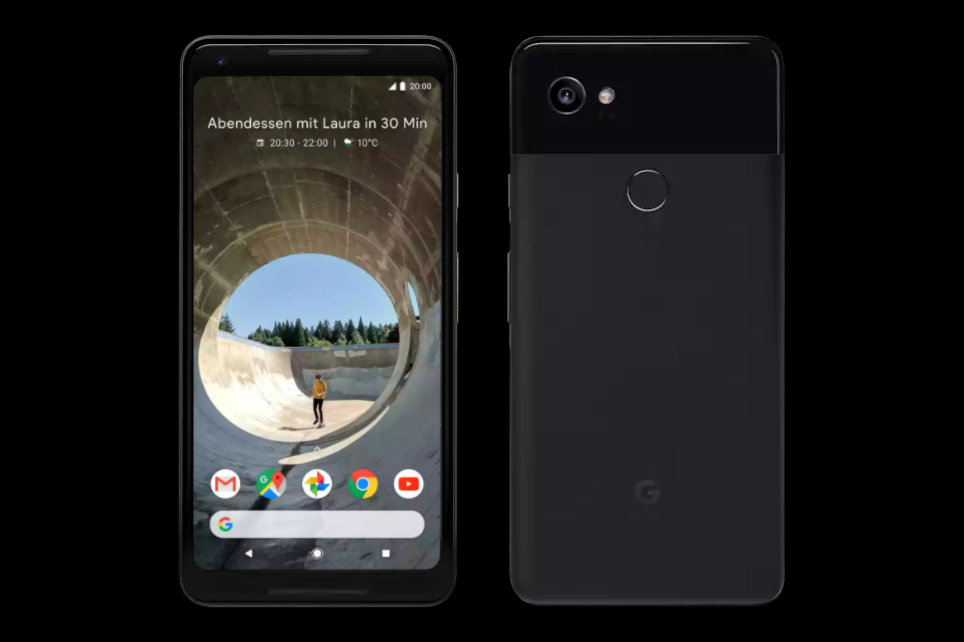 Pixel 2 XL in Just Black