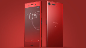Sony: Xperia XZ Premium in Rot, Oreo im Dezember