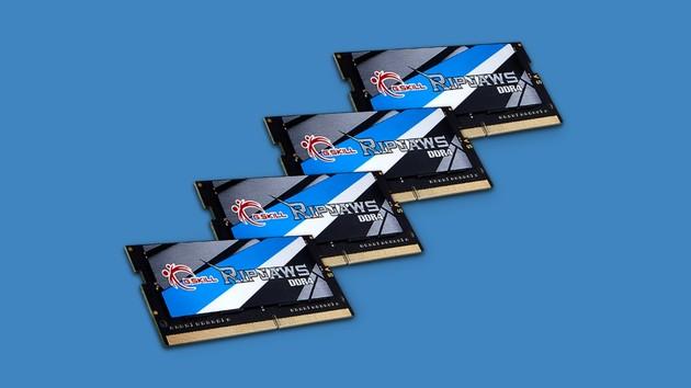 Arbeitsspeicher für Mini-ITX: DDR4-3.800-Kit als SO-DIMM ab Dezember von G.Skill