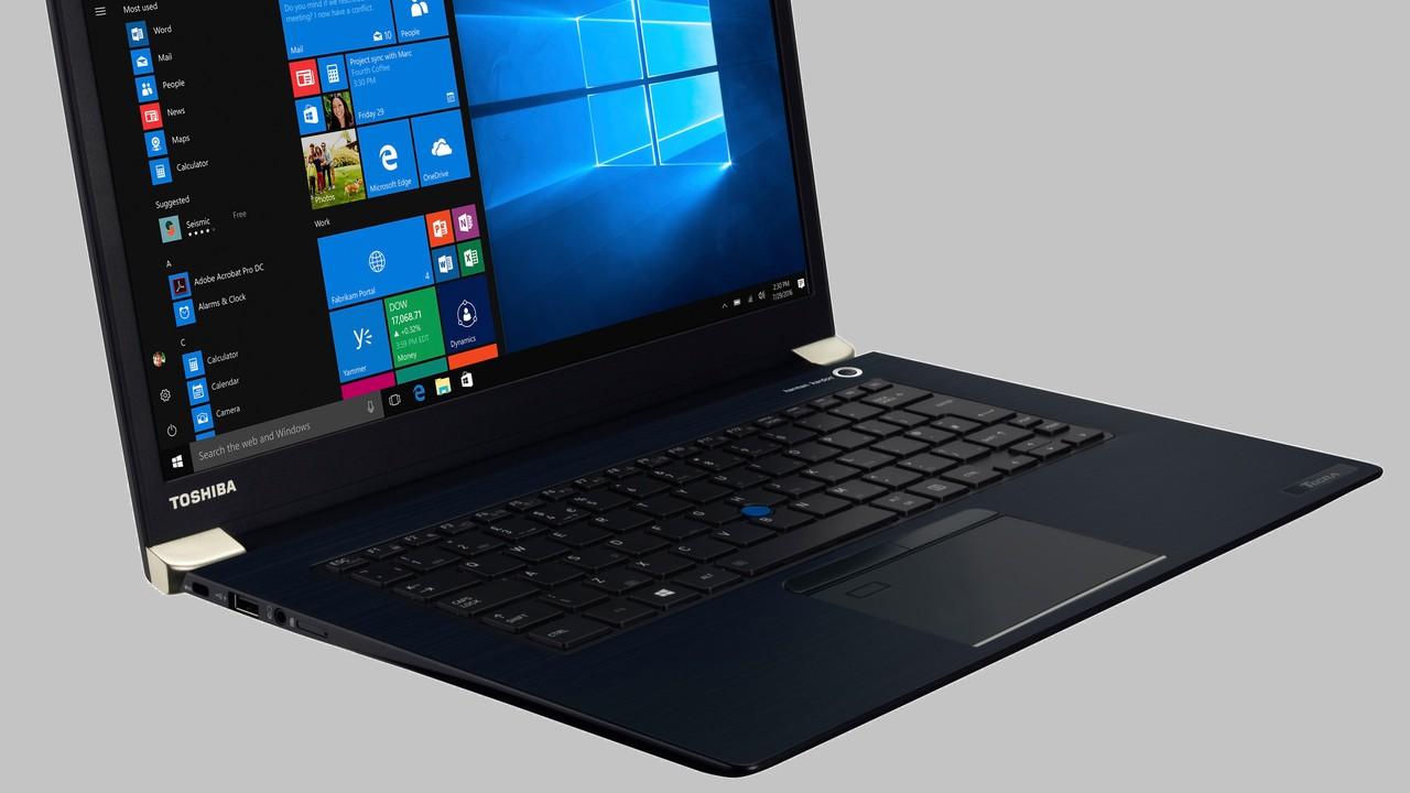 Toshiba Tecra X40-D: Vier Notebooks der 14-Zoll-Klasse auch mit LTE-Modul