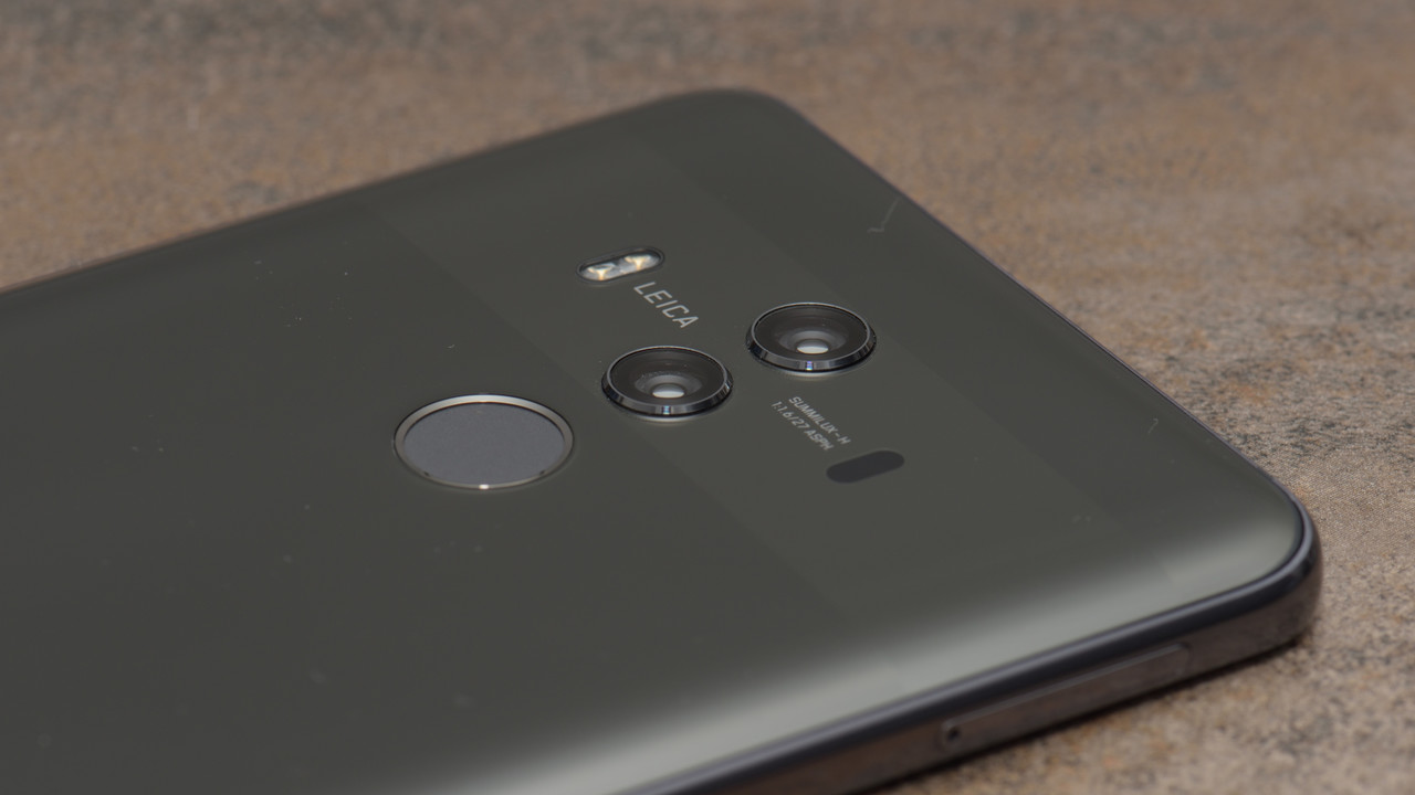 Huawei Mate 10 Pro im Test: Dual-Kamera und OLED in neuem Glasgehäuse