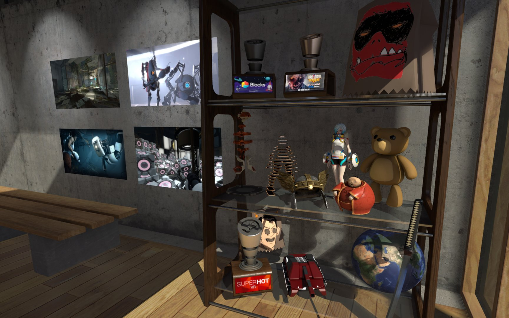 Neue Collectibles im Halloween Update für SteamVR Home