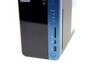 QNAP TS-253B – USB Typ C und SD-Kartenleser