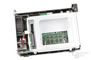 QNAP TS-253B – beim 8-GB-Modell sind beide DIMM-Slots belegt