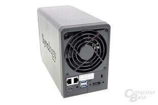 Synology DS718+ – LAN, USB und eSATA