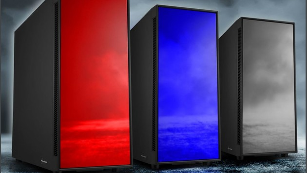 AM5 Silent & Window: RGB heißt bei Sharkoon Rot, Grau oder Blau