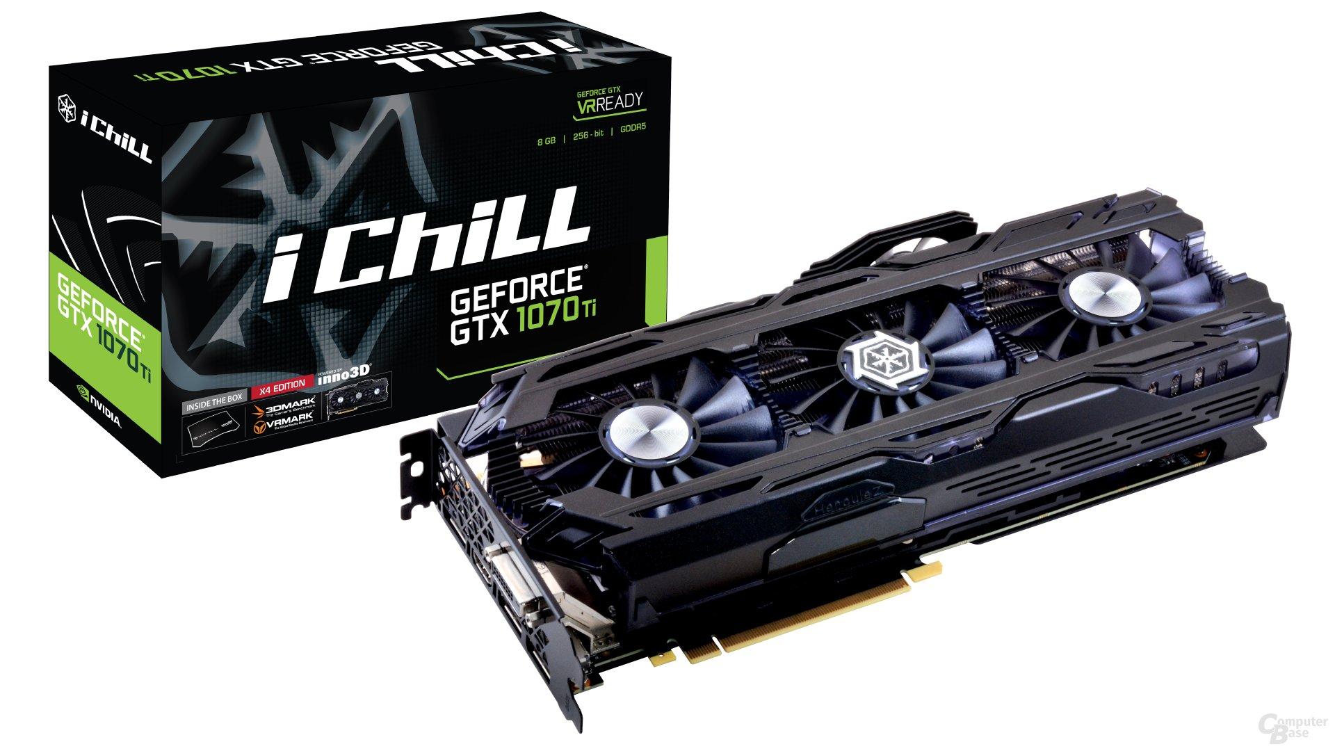 Inno3D GeForce GTX 1070 Ti iChill X4