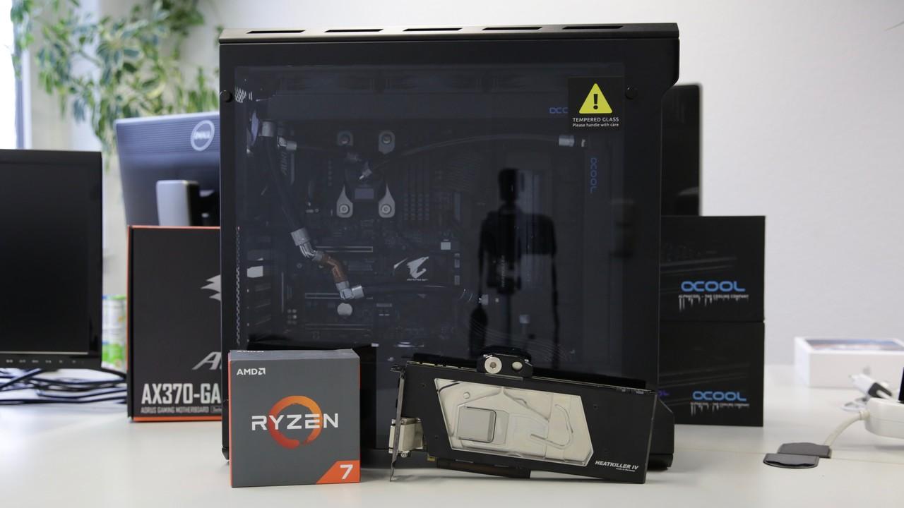 Nikolaus-Gewinnspiel: High-End-PC mit Custom-Wasserkühlung zu gewinnen