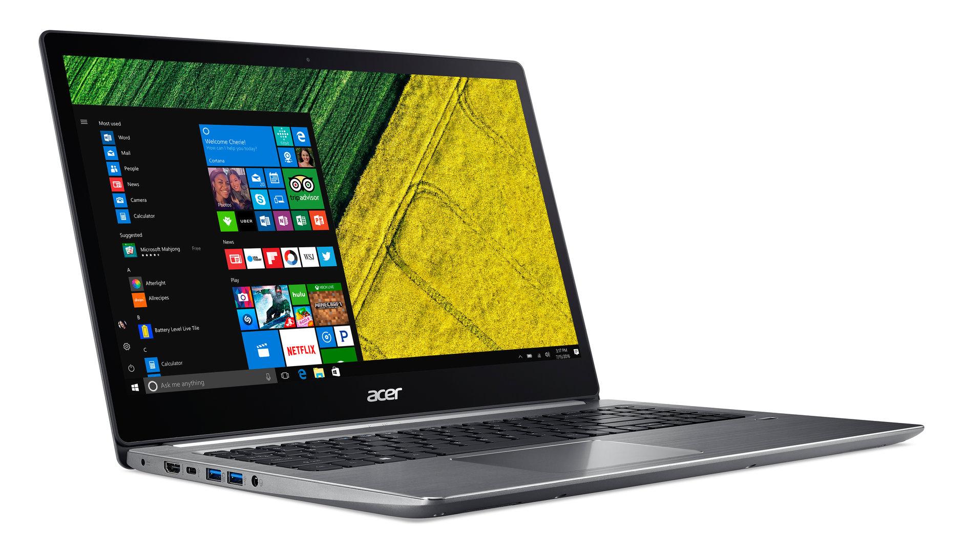 Acer Swift 3 (SF315-41-R7PC) mit AMD Ryzen 5 2500U