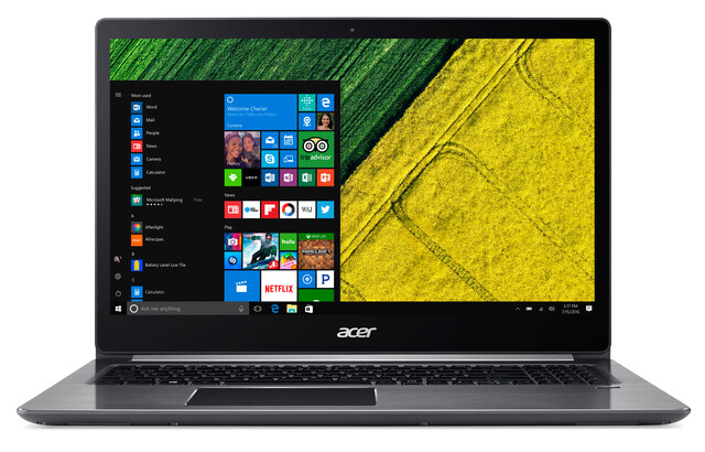 Acer Swift 3 (SF315-41-R7PC) mit AMD Ryzen 5 2500U