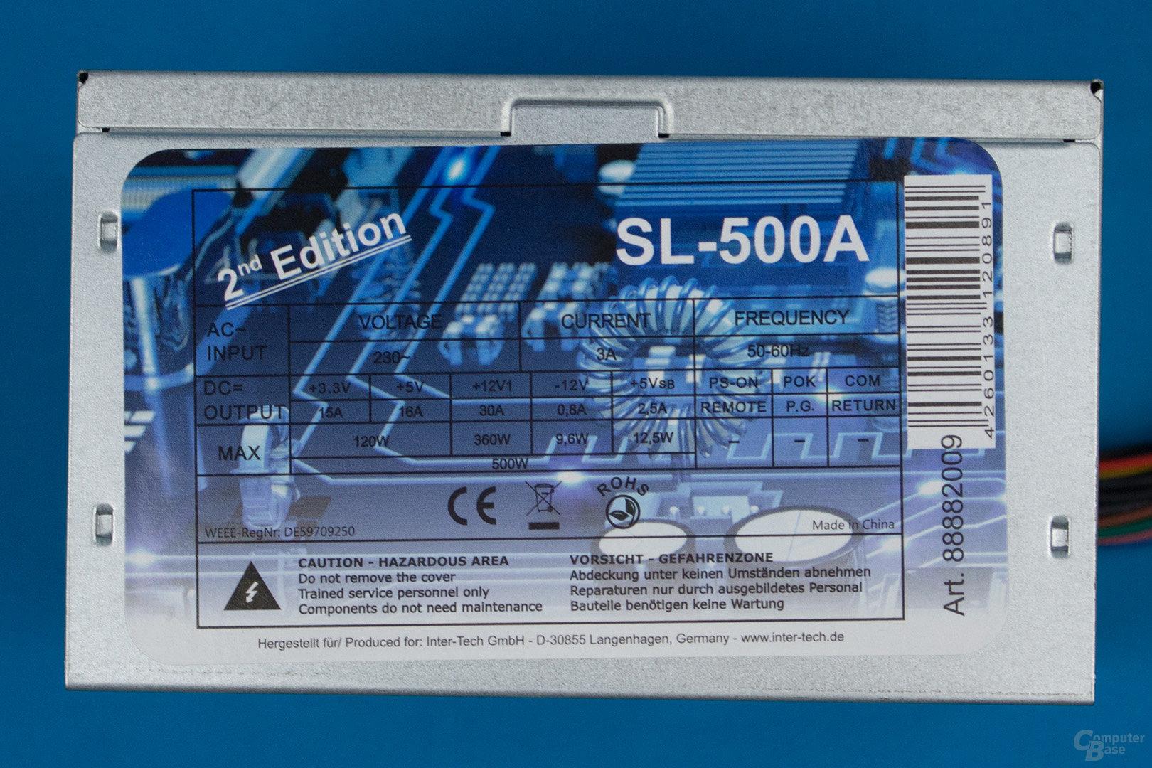 Inter-Tech SL-500A 2nd Edition