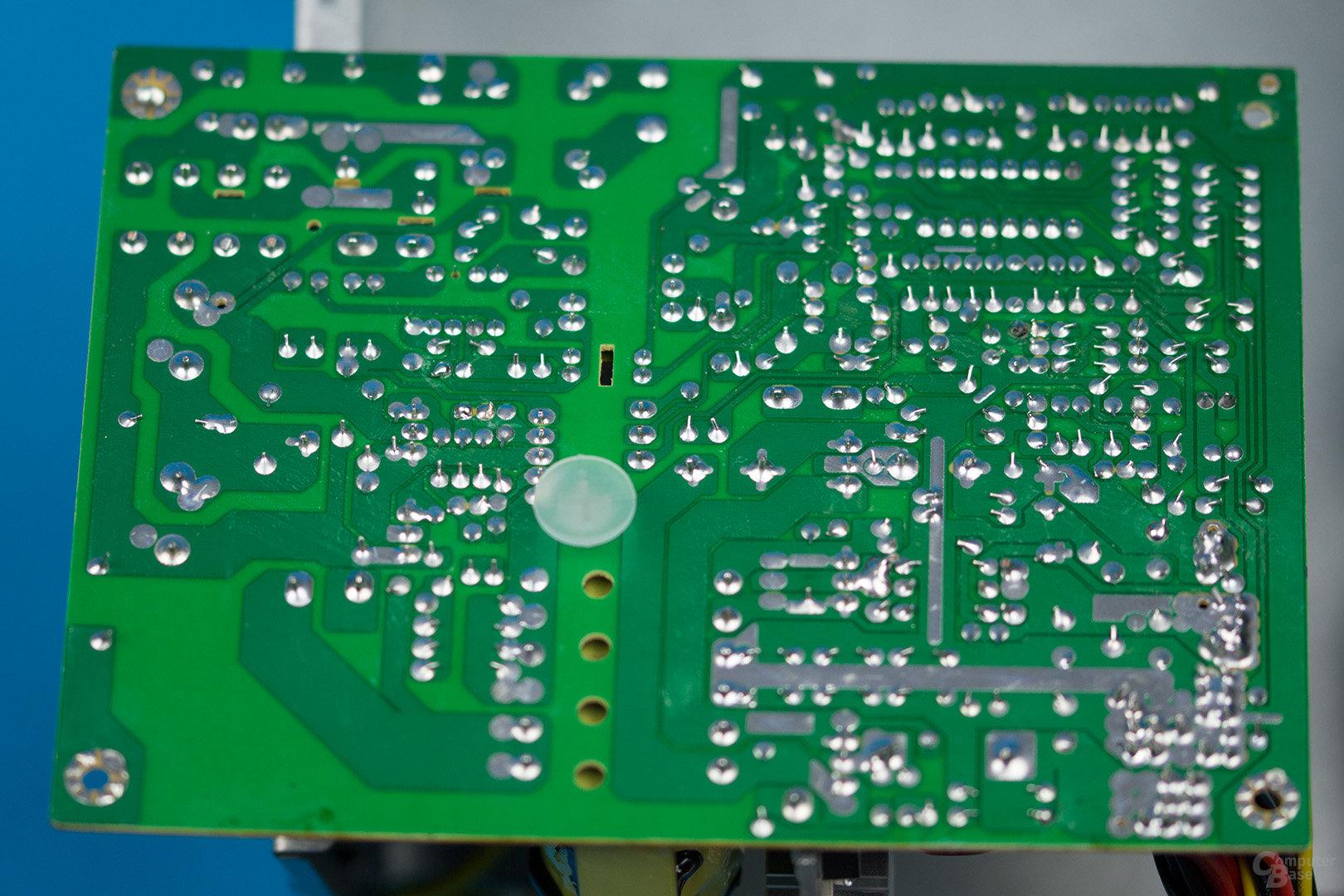 Inter-Tech SL-500A 2nd Edition – Lötqualität
