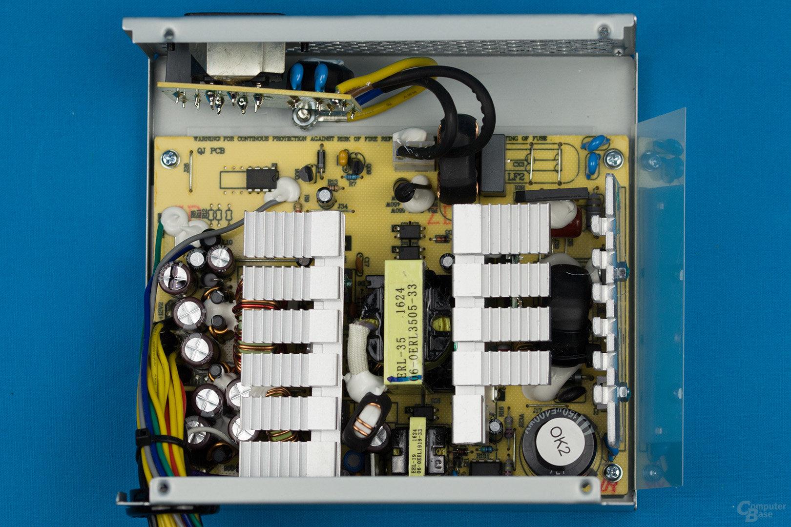 LC-Power LC500H-12 V2.2 – Überblick Elektronik