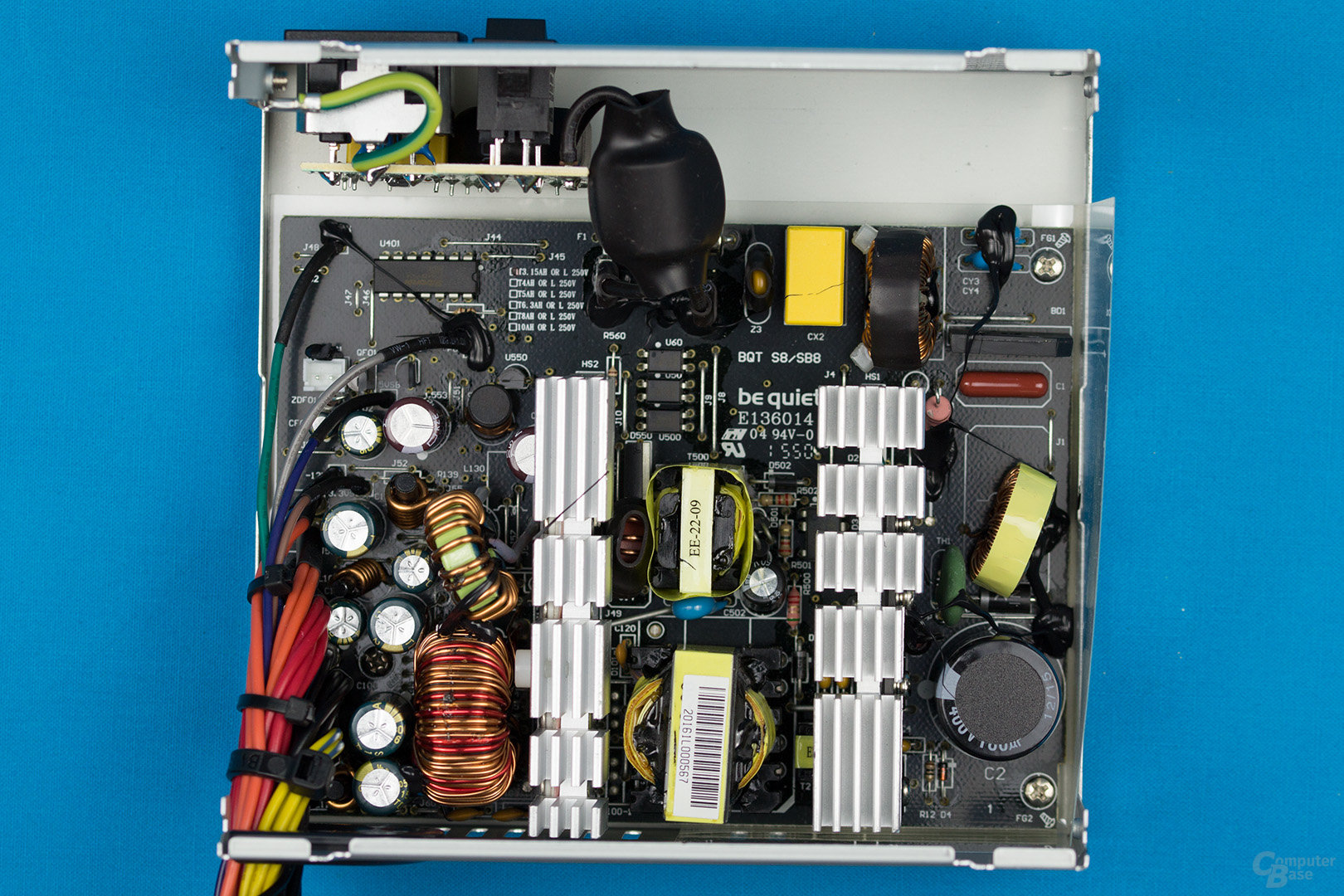 be quiet! System Power B8 300W – Überblick Elektronik