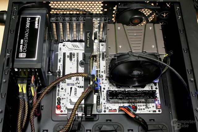Testsystem für CPU-Kühler