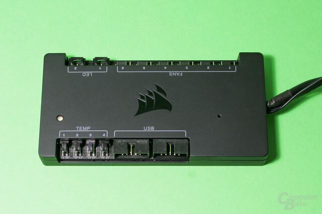 Corsair Commander Pro: Vier Temperatursensoren und zwei USB2.0-Header