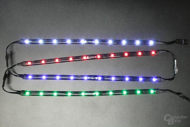 Corsair Commander Pro: Erweiterungs-Kit mit vier RGB-LED-Streifen