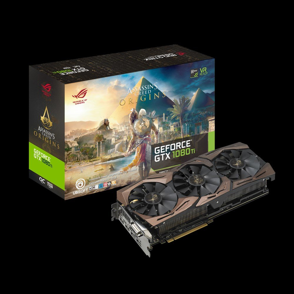 Strix GTX 1080 Ti Assassin's Creed Origins Edition