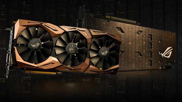 Asus Strix GTX 1080 Ti: Limitierte Assassin's Creed Origins Edition