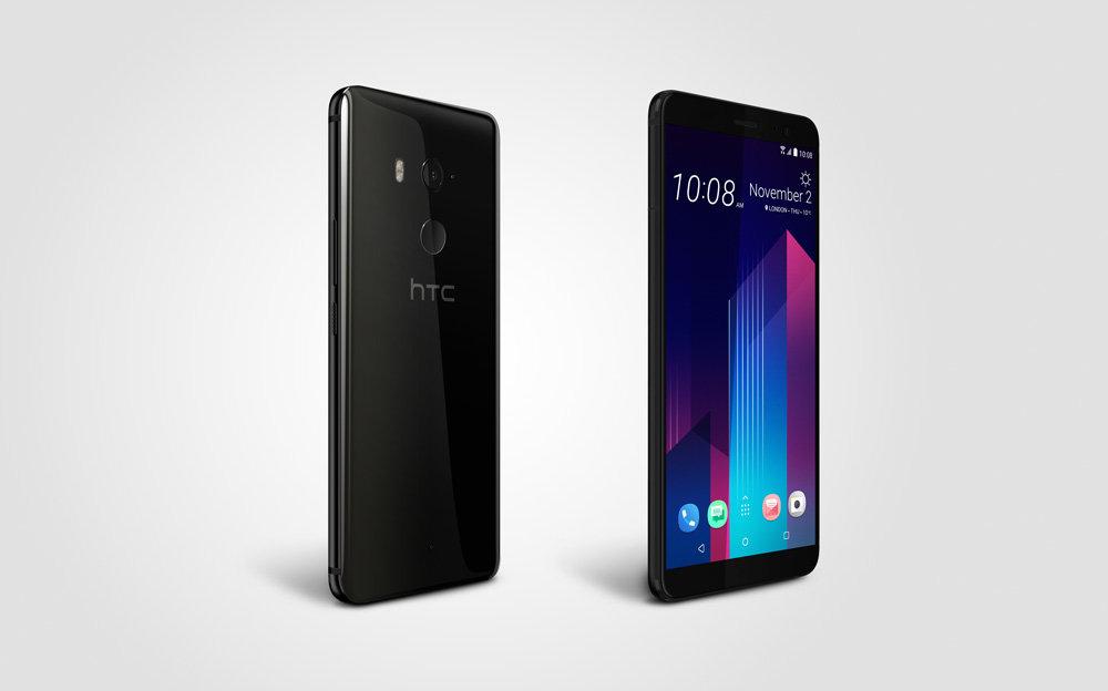 HTC U11+ in Ceramic Black