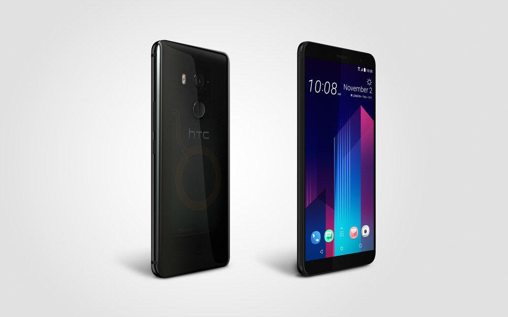 HTC U11+ in Translucent Black