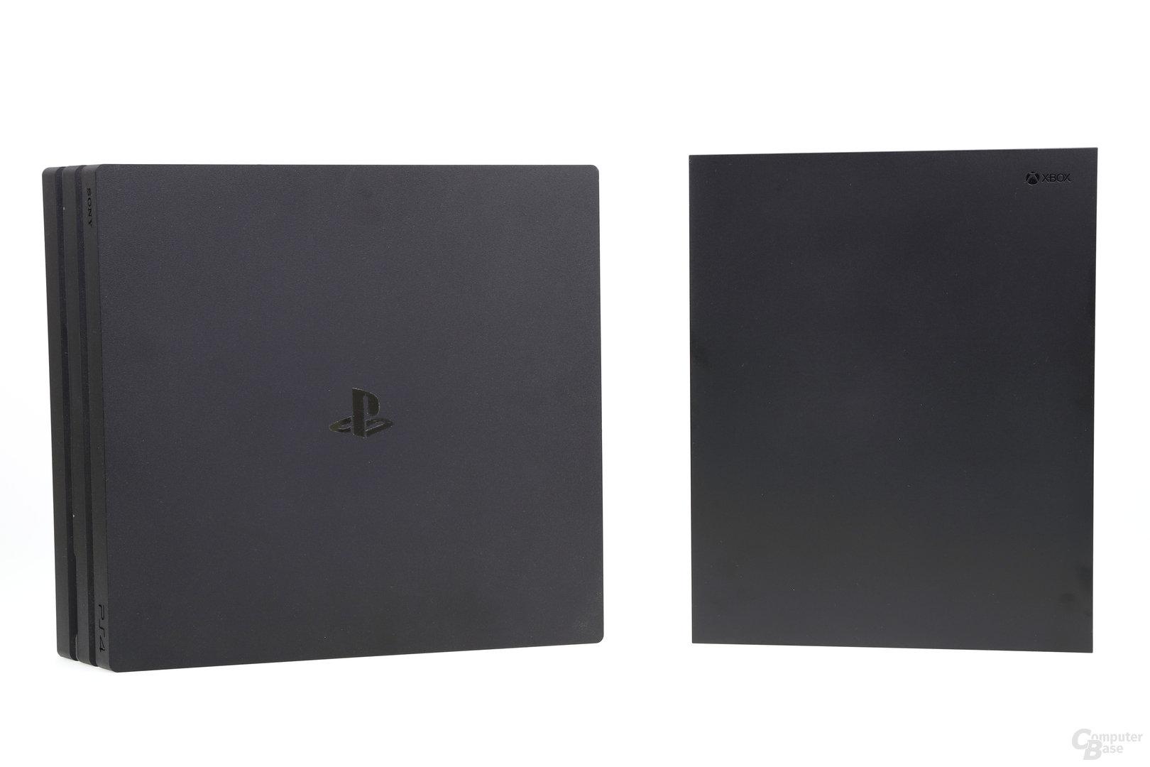 PlayStation 4 Pro und Xbox One X im Vergleich