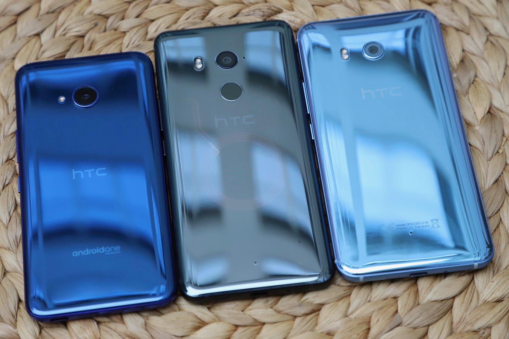 HTC U11 Life, U11+ und U11