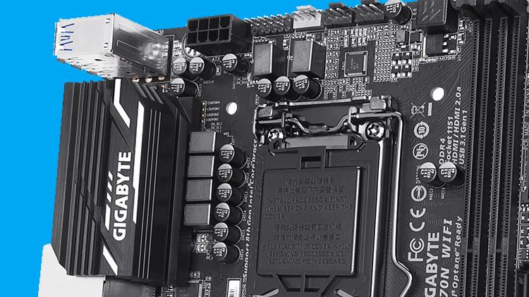 Gigabyte Z370N WiFi: DisplayPort löst bei Mini-ITX für Coffee Lake DVI ab