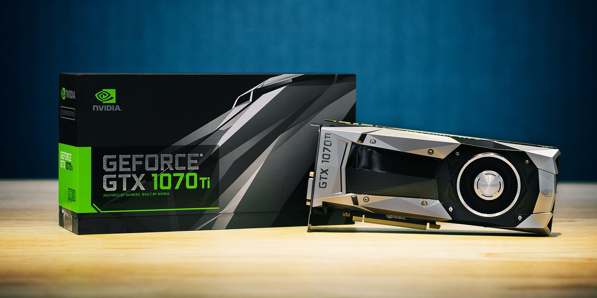 Die neue GeForce GTX 1070 Ti Founders Edition