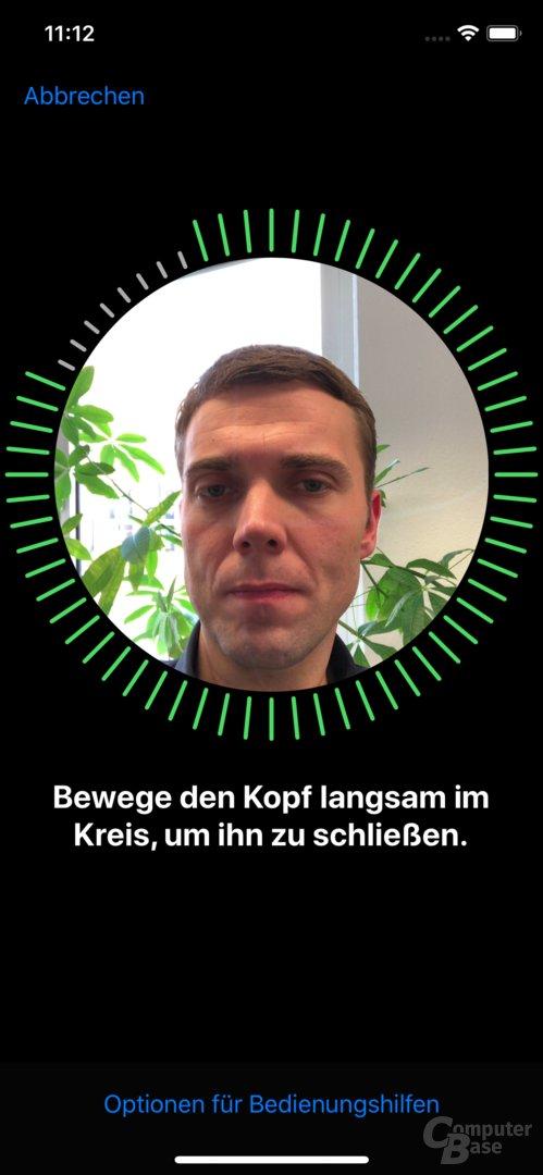 iPhone X – Face ID Einrichtung