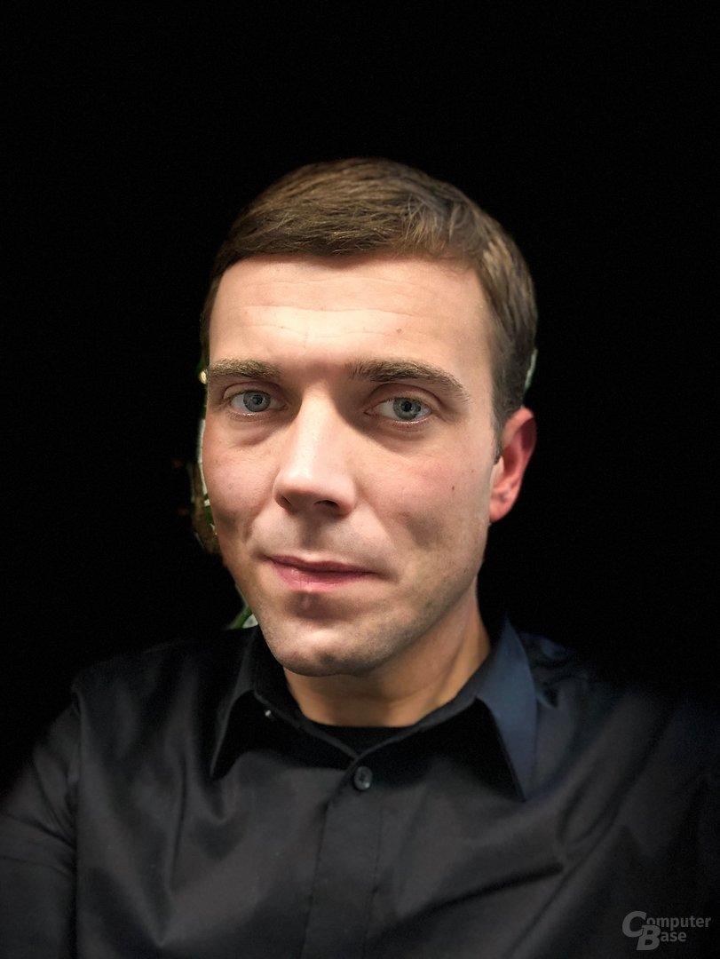 iPhone X: Porträtmodus der Frontkamera – Bühnenlicht