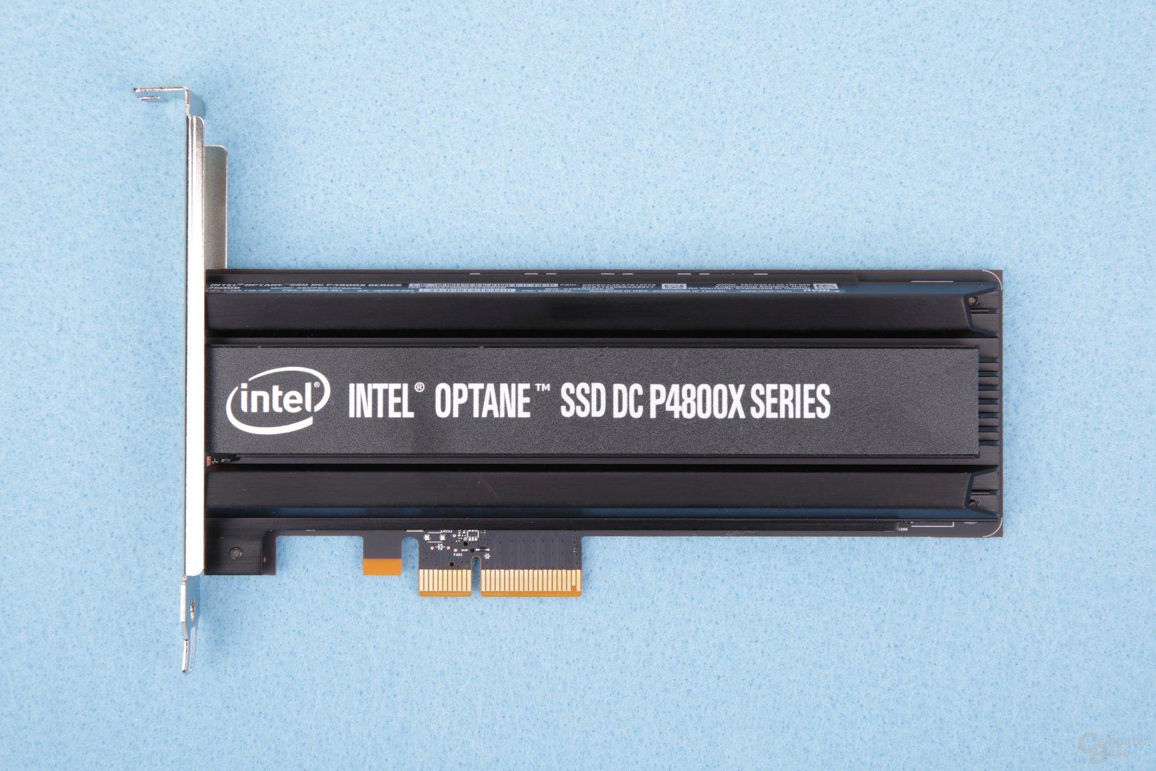Die Intel Optane SSD DC P4800X im Test