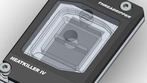 Watercool Heatkiller IV: Neu entwickelter Kühler für AMD Threadripper