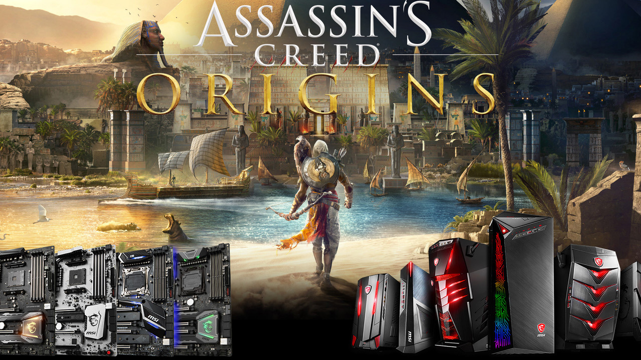 MSI-Aktion: Assassin's Creed: Origins gratis zum Mainboard oder PC