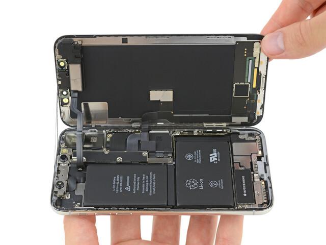 Neuer Innenaufbau des iPhone X