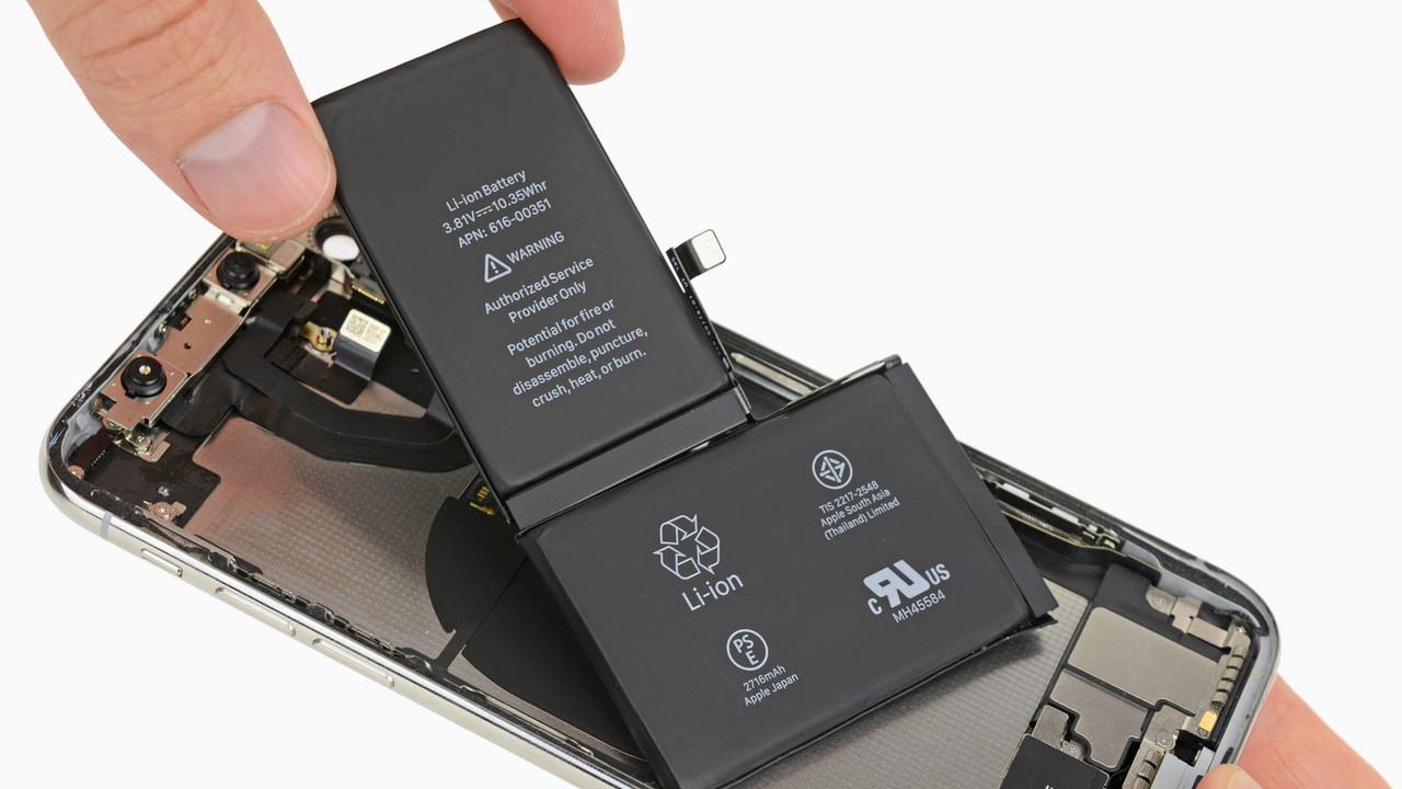 Teardown: iPhone X hat zwei Akkus und komplett neuen Innenaufbau