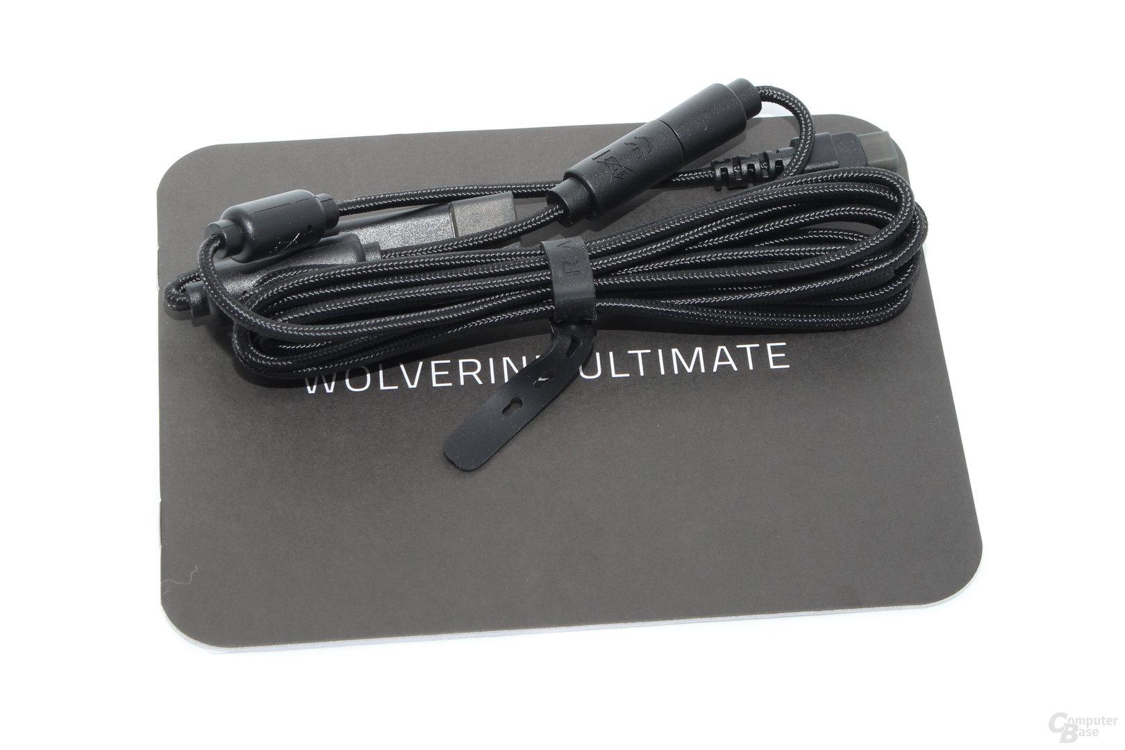 Lieferumfang: Kurzanleitung, USB-Kabel