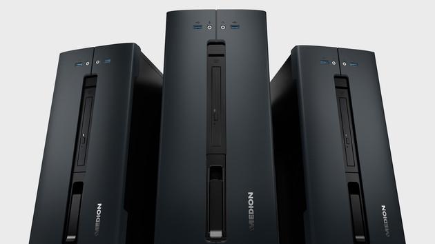 Medion Akoya P56000: Aldi-PC mit AMD Ryzen 5 und Polaris-GPU für 599 Euro