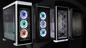 Lian Li Alpha 330X & 550X: Stahlgehäuse mit Glas und RGB aus der Trendfabrik