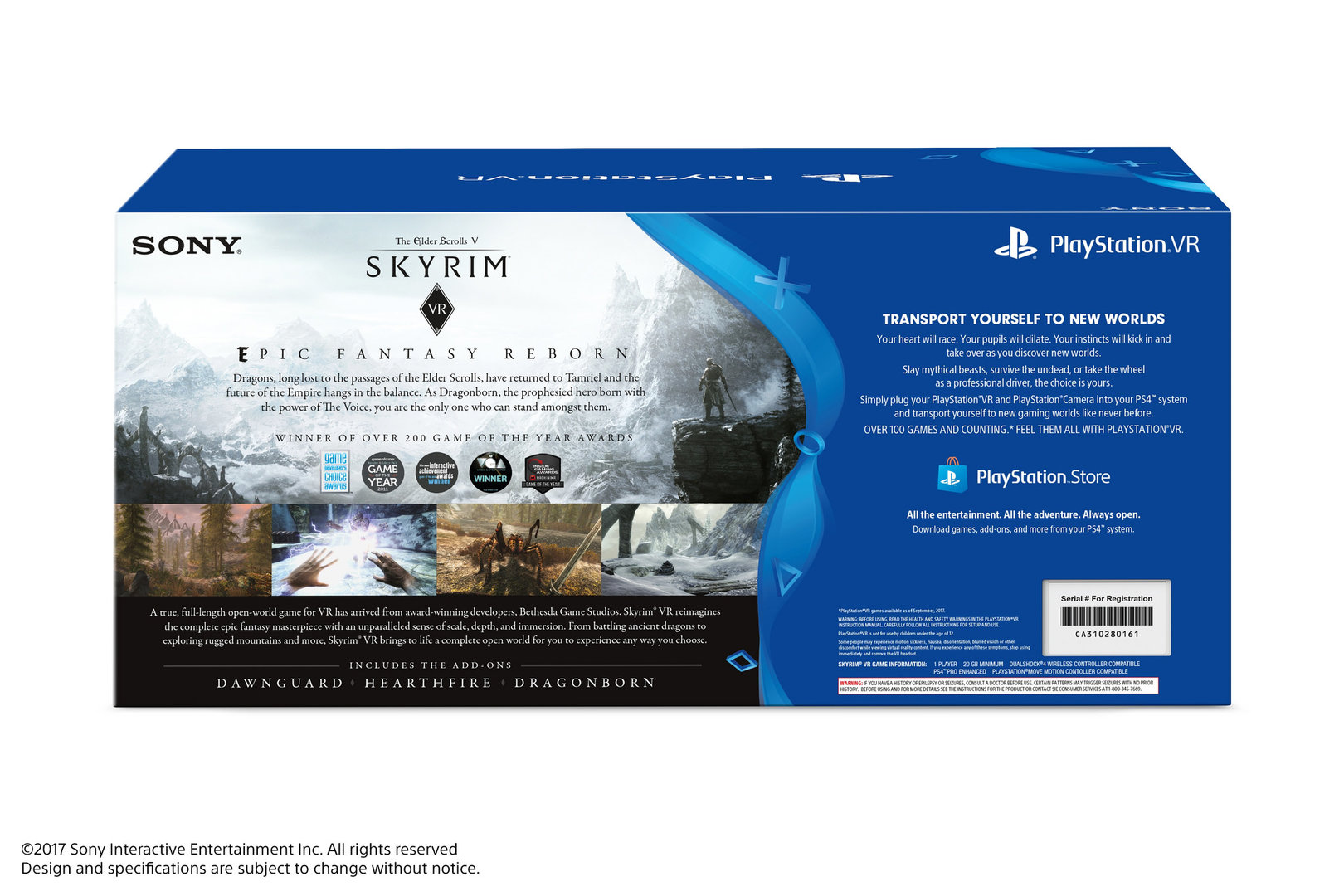 Playstation VR und Skyrim VR Bundle