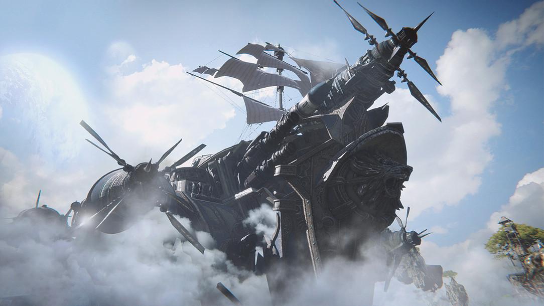 Ascent: Infinite Realm: Steampunk-MMORPG der PUBG-Macher in luftiger Höhe